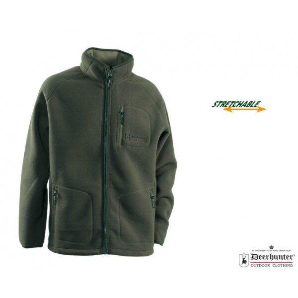 DEERHUNTER COLVILLE FLEECE JACKET - FLÍSOVA MIKINA zelená 987f5af427