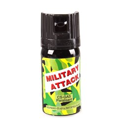 Kaser CS MILITARY Atack 40 ml