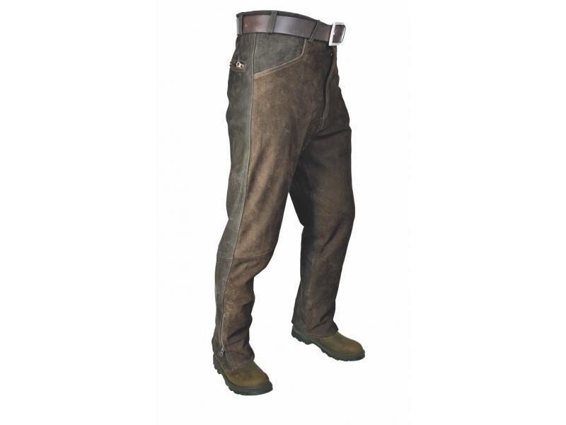 9117d7fba8eb Pánske kožené nohavice HUBERTUS