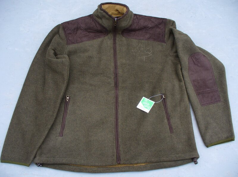 3ab04944e Flisová poľovnícka bunda supersoft