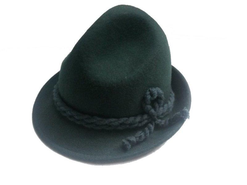 fbd43b559 Detský klobúk zelený tmavý