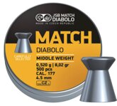 JSB Match Middle weight 4,51mm 500ks