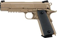 Pištoľ CO2 Colt M45 CQBP FDE, kal. 4,5mm BB
