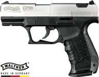 Pištoľ CO2 Walther CP99 bicolor, kal. 4,5mm diabolo