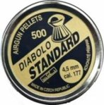 Diabolo STANDARD 4,5mm 500ks