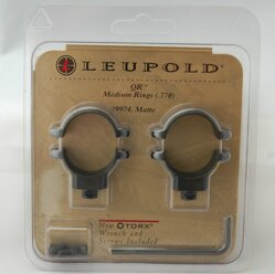 Krúžky Leupold QR 25,4 mm Medium