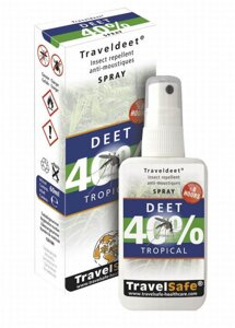 TravelSafe repelent Traveldeet 40% sprej 60ml