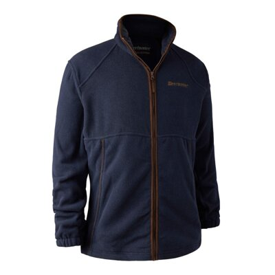 Deerhunter Wingshooter Fleece Jacket Blue - bunda