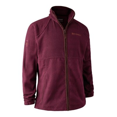 Deerhunter Wingshooter Fleece Jacket Red - bunda