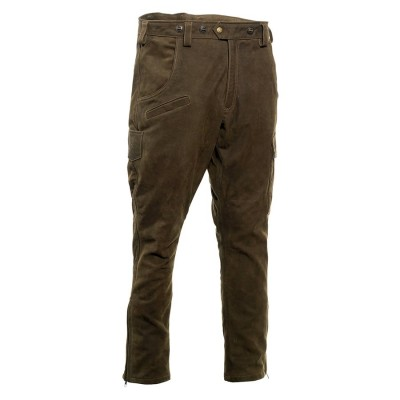 DEERHUNTER STRASBOURG LEATHER BOOT TROUSERS - KOŽENÉ NOHAVICE
