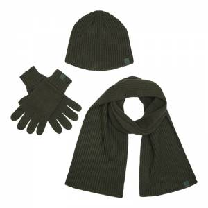 Deerhunter 3pcs Winter set - čiapka šál a rukavice
