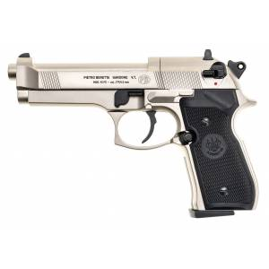 Pištoľ CO2 Beretta M92 FS nickel, kal. 4,5mm diabolo