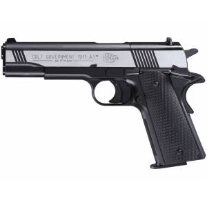 Pištoľ CO2 Colt Government 1911 A1 Dark Ops, kal. 4,5mm diabolo