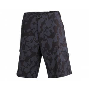 Nohavice BDU short R/S MFH 01512K - night camo