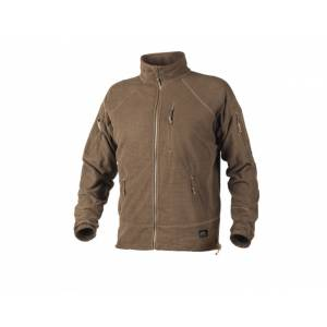 Mikina HELIKON-TEX Alpha Tactical grid fleece - coyote