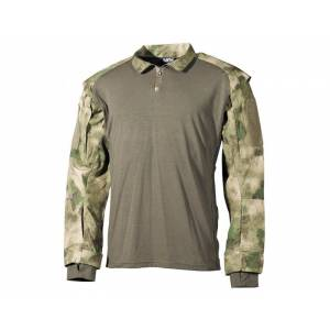 Košela US Tactical so suchým zipsom MFH 02611E - HDT camo FG