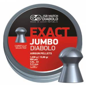 JSB Jumbo Exact 5,52mm 500ks