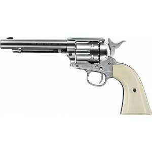 Revolver CO2 Colt SAA .45 nickel/pearl, kal. 4,5mm BB