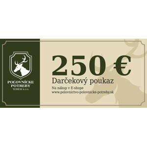 124d882bd Darčekový poukaz na nákup v našom e-shope 250€