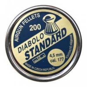 Diabolo STANDARD 4,5mm 200ks